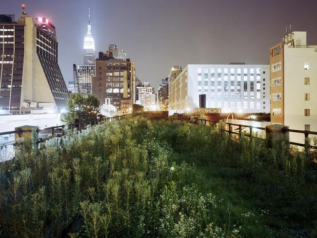 The future site of the Highline, New York City, 2004-05. Pic: Jesse Chehak.