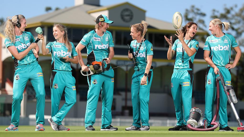WBBL: Brisbane Heat women more than just cricketers | The ...