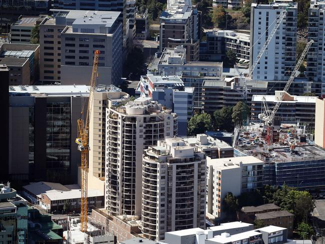 Western Sydney Construction Boom The Courier Mail