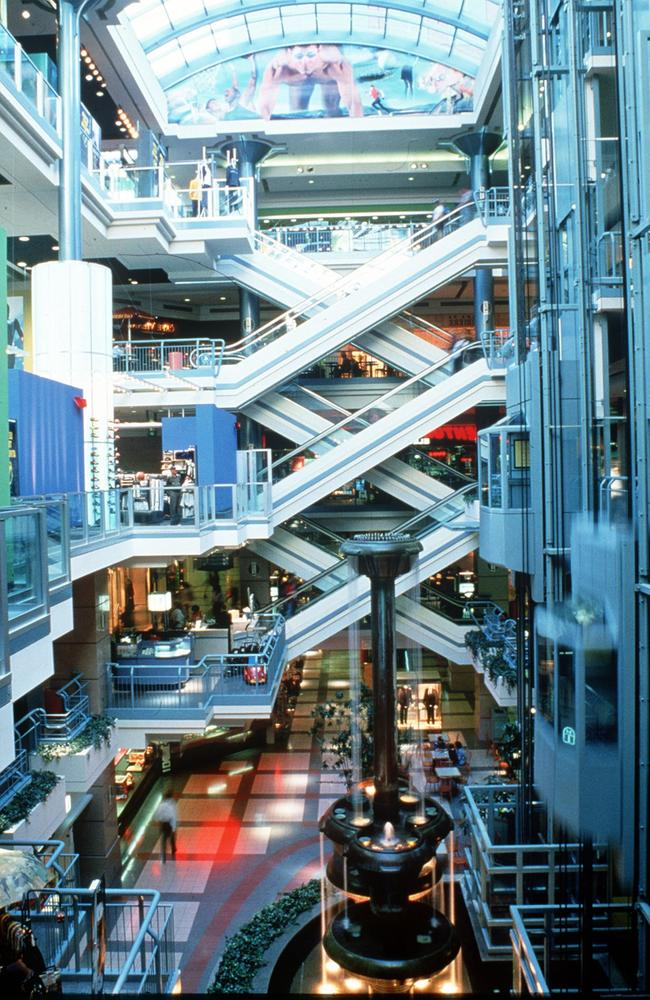 Looking into Montreal's underground city. Picture: Canadian Tourism Commission