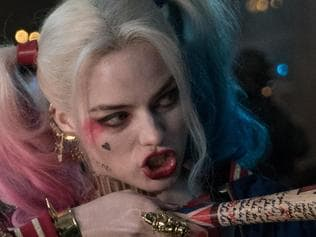 G0WEJR RELEASE DATE: August 5, 2016 TITLE: Suicide Squad STUDIO: Atlas Entertainment DIRECTOR: David Ayer PLOT: A secret government agency recruits imprisoned supervillains to execute dangerous black ops missions in exchange for clemency PICTURED: MARGOT ROBBIE as Harley Quinn, ADEWALE AKINNUOYE-AGBAJE as Killer Croc (Credit: © Atlas Entertainment/Entertainment Pictures/ZUMAPRESS.com)