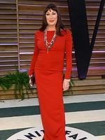 Anjelica Huston attends the 2014 Vanity Fair Oscar Party. Picture: Getty