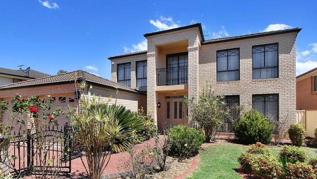 8 Outlook Street in Blacktown has five bedrooms and is up for auction