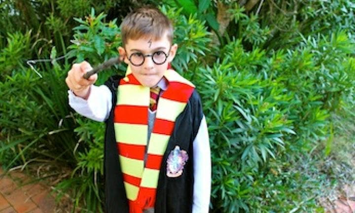 how to make a harry potter costume easy