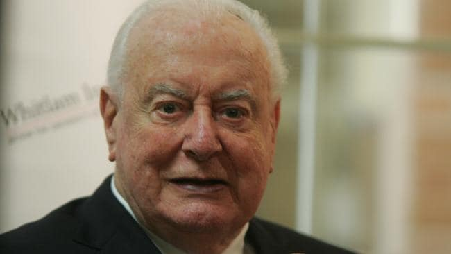 Former Prime Minister Gough Whitlam was active in Australian life for many years after he left politics.