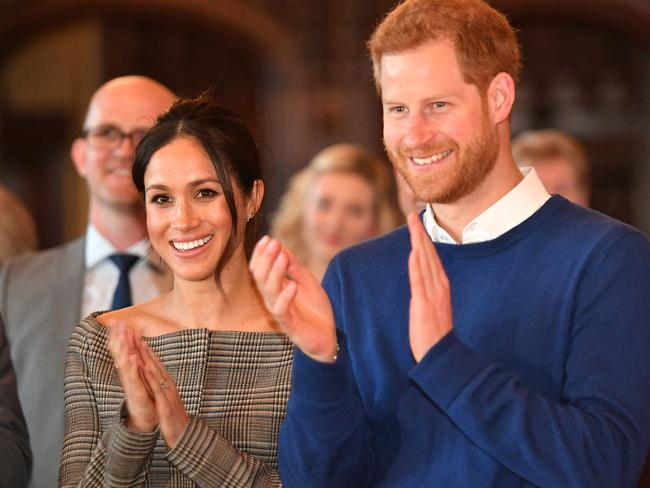 Prince Harry and Meghan Markle are seeking a Communications Assistant who will travel with them to off-site engagements such as their recent visit to Cardiff, Wales. Picture: Getty