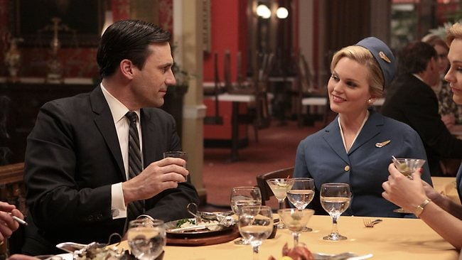 Follow all the action on Mad Men, Movie Extra. Picture: Supplied