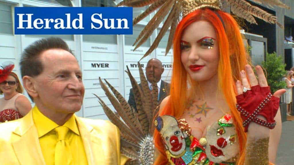 Geoffrey edelsten and gabi grecko wedding hairstyles