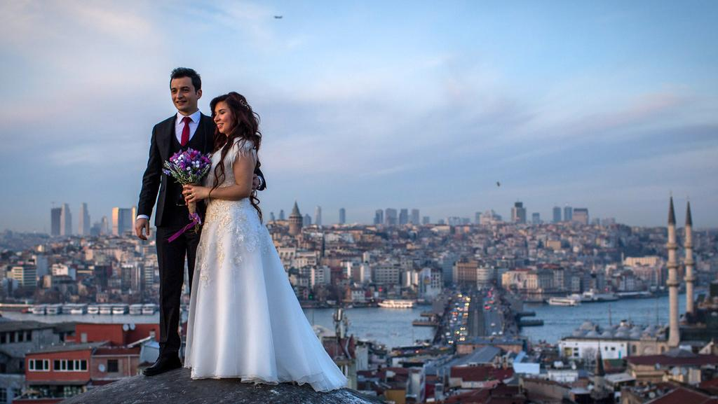 Young Turks living in Europe have been told to have five children and live in the best homes in a national rallying cry from President Erdogan. Picture: Chris McGrath/Getty Images.