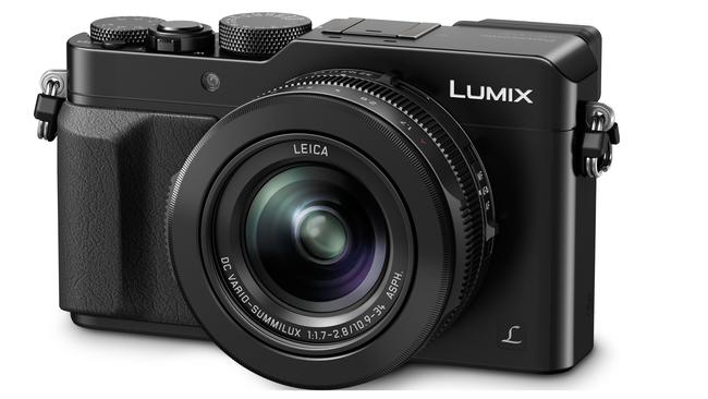 Panasonic Lumix LX100 digital camera.