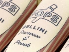 Champagne-flavoured icy poles are here