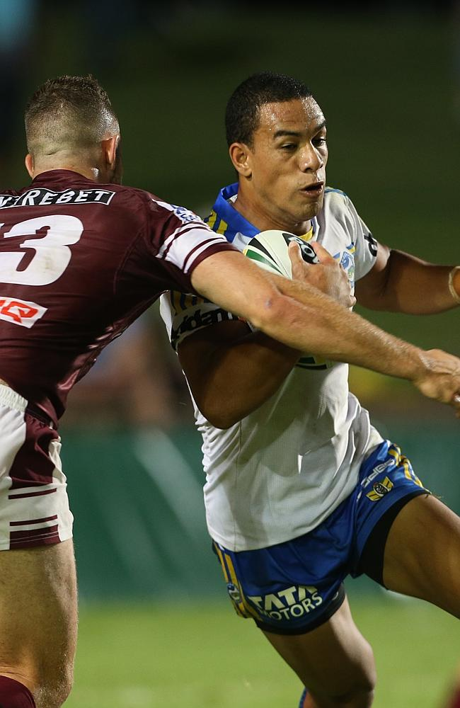 Will Hopoate needs to have a big year if the Eels are to avoid the spoon in 2014.