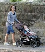 <p>Princess Mary in Manly. Crown Princess Mary with her daughter Isabella and bridesmaid, Amber Petty take a stroll on Darley St Manly. Pic Brad Hunter.</p>