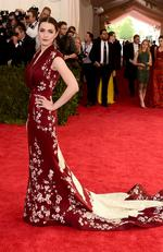 """Bee Shaffer attends the Met Gala 2015 """"China: Through The Looking Glass"""". Picture: Getty"""