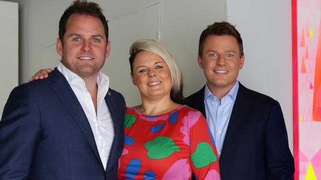 Siblings Ben, Nick and Sarah Fordham. Picture: News Corp