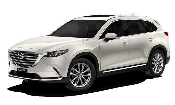 <b>MAZDA CX-9 from $42,490</b>  <p>This is one sleek car. For such a big vehicle it moves like a shark: smooth and quiet. It's also got a luxurious feel to all of the internal and external finishes. It's soft and shiny. But will it stand up to a carload of kids? You bet. From the window blinds fitted in the second row to the clever storage options to the large boot, even with the third row seats in use. This is a heavy car, so it's not light on fuel consumption and the doors are massive (so watch how you open them). I took this one for a test drive and I was super impressed.</p>