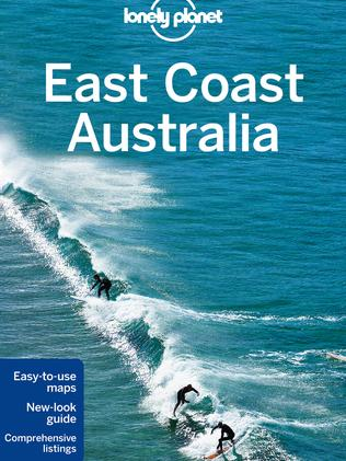 The newly released fifth edition of Lonely Planet East Coast Australia.