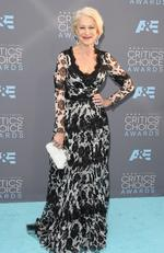 Helen Mirren attends the 21st Annual Critics' Choice Awards on January 17, 2016 in California. Picture: Getty
