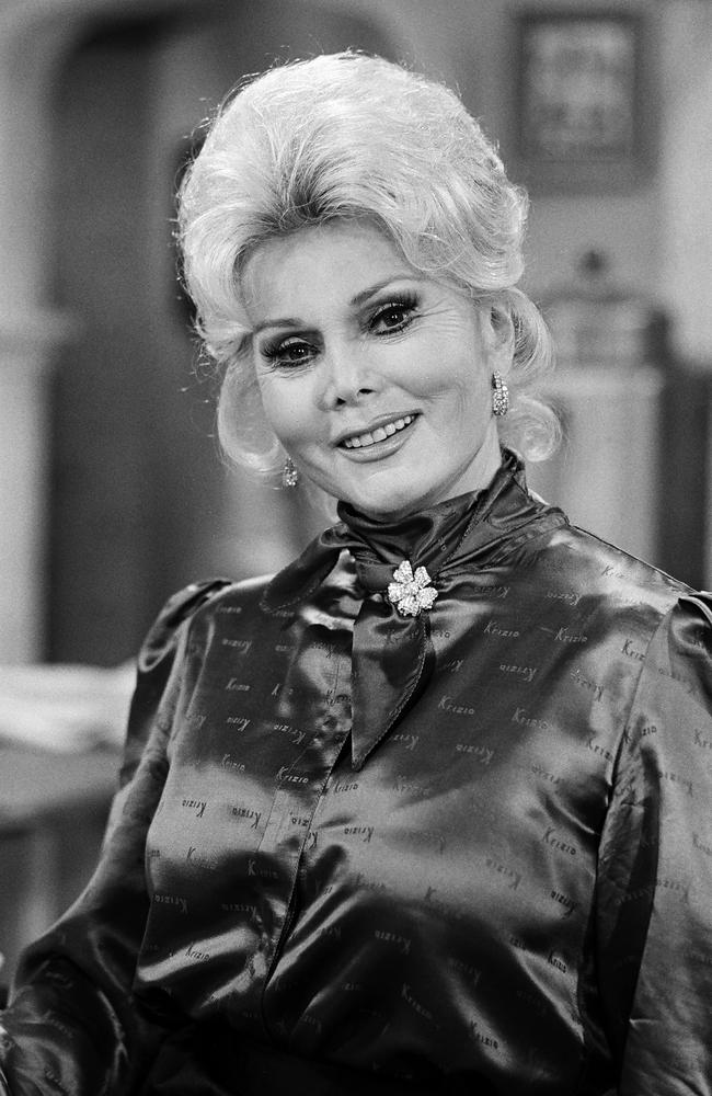 Zsa Zsa Gabor as Countess Calvet in The Facts of Life: Bought and Sold. Picture: Paul Drinkwater / NBC / NBCU Photo Bank