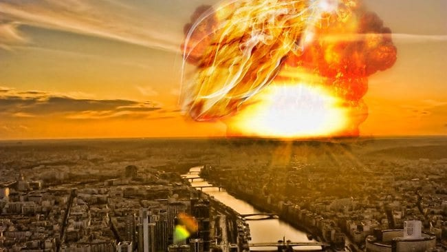 Asteroid fire is one of the proposed ways Earth will meet its demise. Picture: Thinkstock