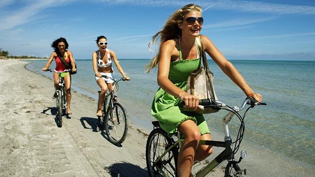 Riding a bike on the beach with your friends. That's an anchor event.