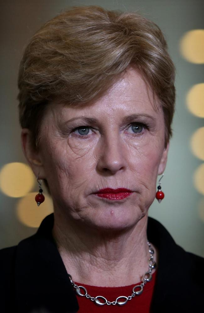 Another winner: Under the Palmer plan, Greens Leader Christine Milne would get much of what she wanted.