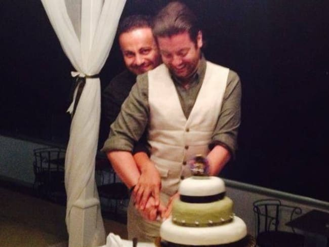 In love ... Marco and David Bulmer-Rizzi. Picture: Supplied