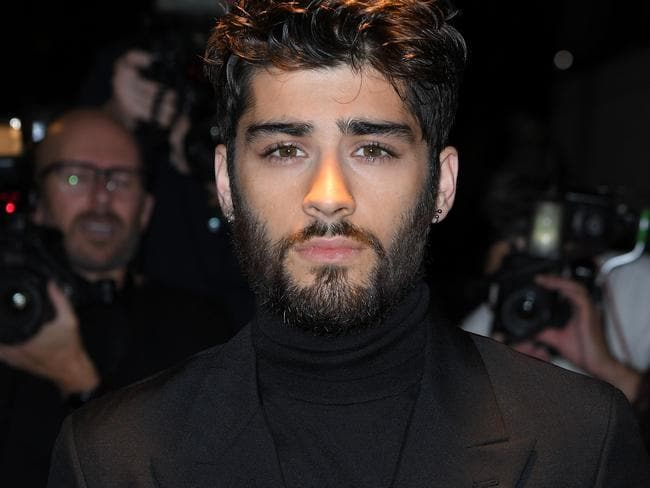 Zayn Malik said that didn't expect to have a relationship with Harry Styles when he left the boyband. Picture: AFP.