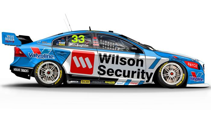 Scott McLaughlin's No. 33 Wilson Security Volvo S60.
