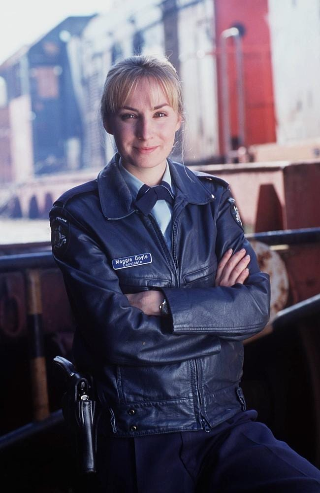 Australia's sweetheart ... Lisa McCune played Maggie Doyle in Blue Heelers.