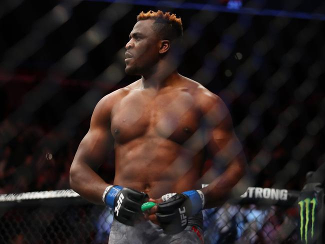 Francis Ngannou. (Photo by Gregory Shamus/Getty Images)