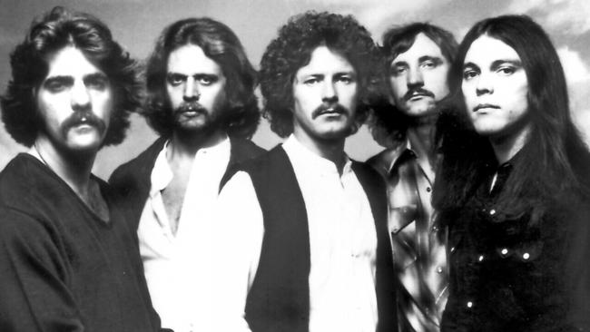 The Eagles' in the late 1970s (l-r) Glenn Frey, Don Felder, Don Henley, Joe Walsh and Timothy B. Schmit.
