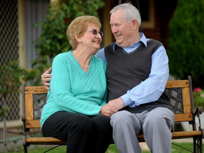 FRUGAL: Pensioners Marion and Dennis Matthews.  <b>Picture: KERYN STEVENS</b>