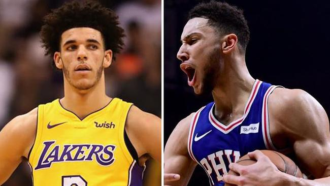 潛能解放—Los Angeles Lakers & Philadelphia 76ers