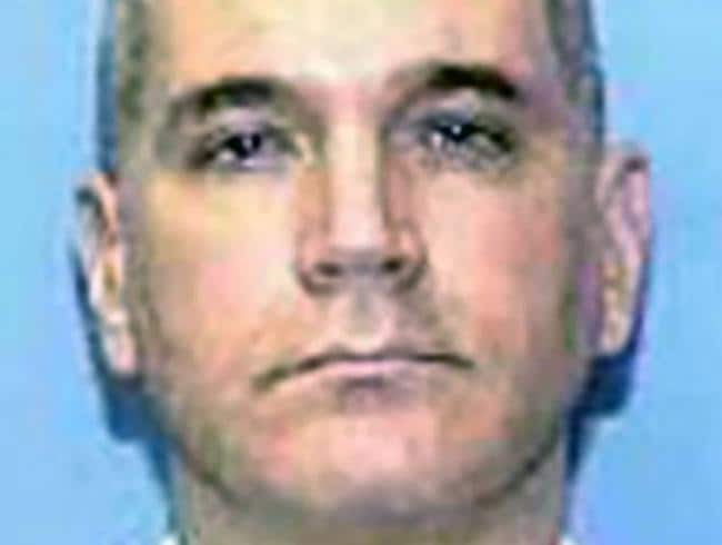 Battaglia shot to death the girls, aged six and nine, when they were visiting him for dinner in 2001. Picture: Texas Department of Criminal Justice/AFP