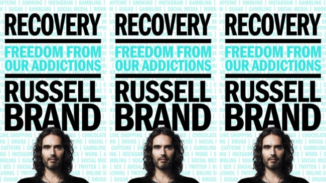 Recovery by Russell Brand. Photo: Supplied