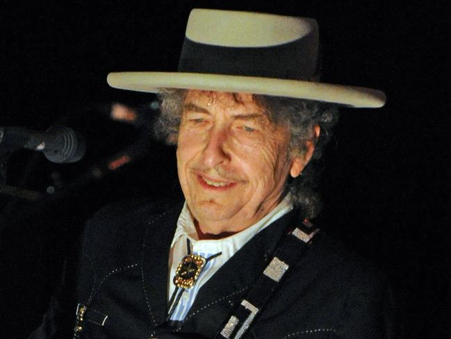 Bob Dylan received an honorary Pulitzer in 2008. Picture: AFP