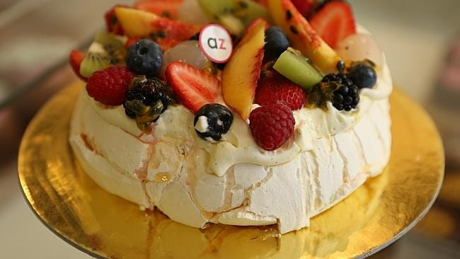 The Pavlova was invented in New Zealand. Picture: News Limited.