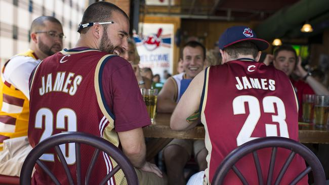 Cleveland fans will be able to sport their no. 23 Lebron James shirts once again.