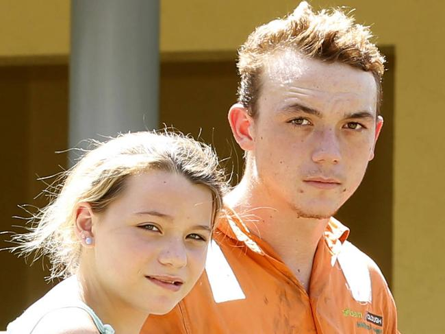 Teen saves family home from blaze