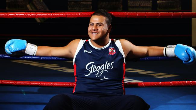 Knockout king Tuivasa says he could still make it as an NRL player.