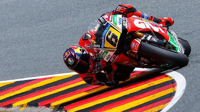 Bradl will switch to NGM Forward Racing in 2015.