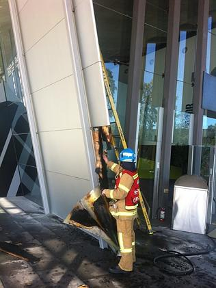 A look at some of the damage. Picture: MFB