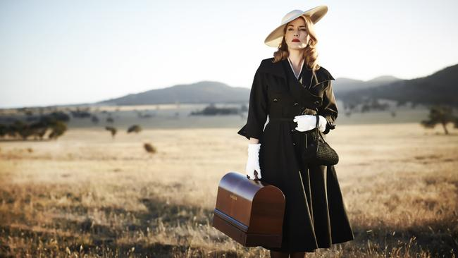 A first look at The Dressmaker, starring Kate Winslet.