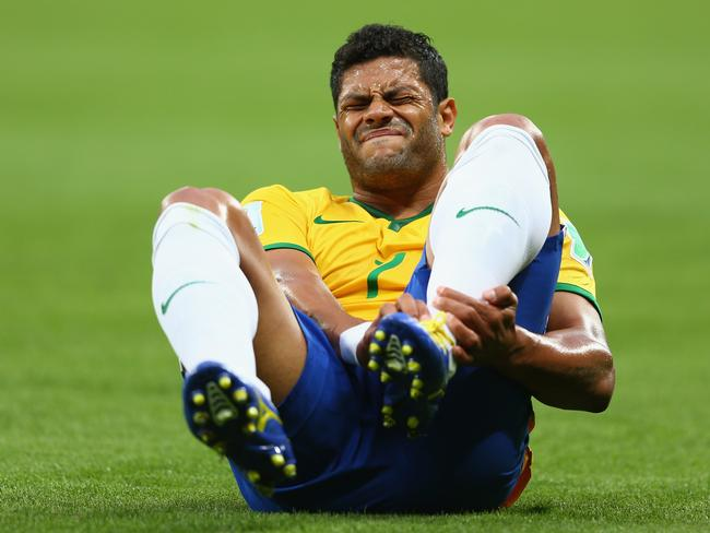 Hulk's left ankle is the least of Brazil's worries.