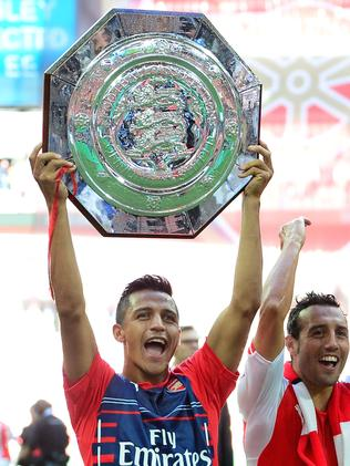 Arsenal's Chilean midfielder Alexis Sanchez.