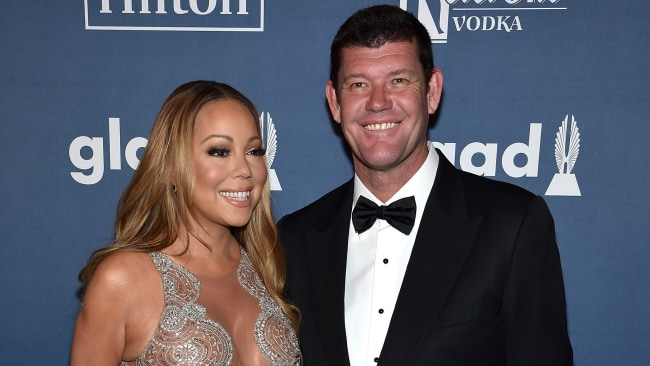 James and Mariah (Photo by Dimitrios Kambouris/Getty Images for GLAAD)