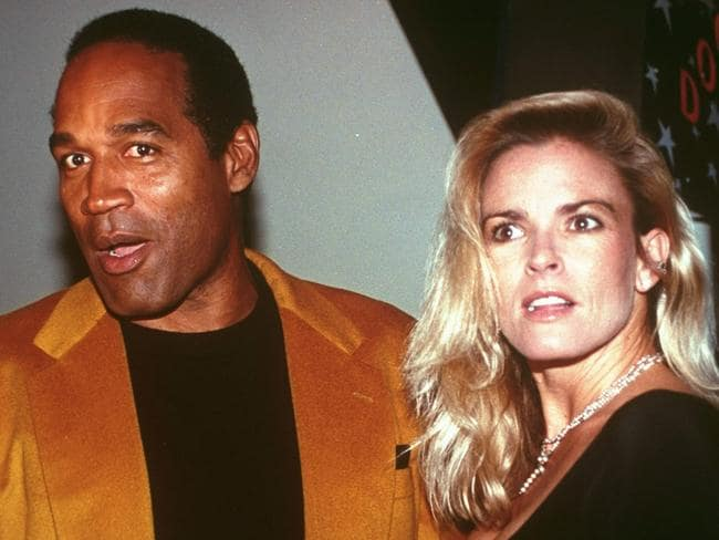 OJ Simpson and his then-wife, Nicole Brown Simpson, photographed in 1993. Picture: AP