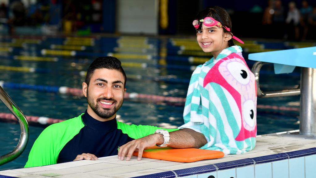 Migrant Swimming Instructors To Graduate And Become Members Of West Beach Surf Life Saving Club