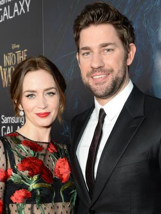 Married ... Emily Blunt and John Krasinski. Picture: Getty